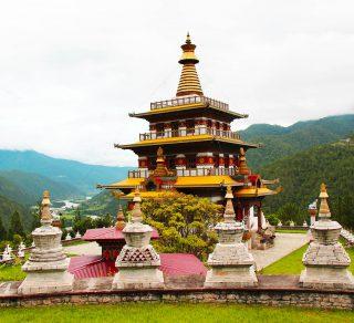 Khamsum Yulley Namgyal Chorten (Stupa)